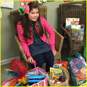 The Thundermans' Addison Riecke Asked For Pet Supplies For Her Birthday & She Donated Them All!