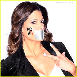 Jane the Virgin's Andrea Navedo Shows Her Support For the NOH8 Campaign!