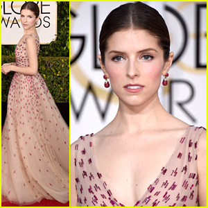 Anna Kendrick Comes Out Of 'The Woods' For Golden Globes 2015
