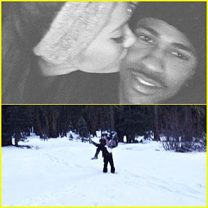 Ariana Grande & Big Sean Shoot Down Split Rumors with a Tahoe Vacation