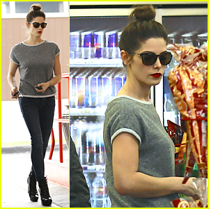 Ashley Greene Challenges Ashley Tisdale to Donate Denim