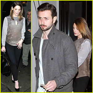 Ashley Greene & Paul Khoury Enjoy Date Night at Craig's