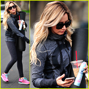 Ashley Tisdale Gets Psyched For International Ashley Tisdale Day