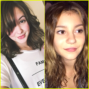 Audrey Whitby & G Hannelius Go Back To Their Roots - See Their Hair Change Here!