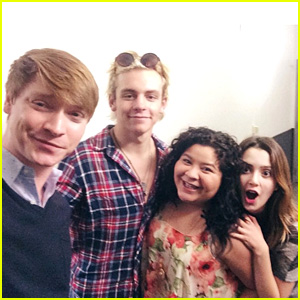 Ross Lynch, Laura Marano & 'Austin & Ally' Cast Celebrate Season Four Premiere!