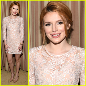 Bella Thorne Has A Neutrogena Reunion at Elle's Women In Television Celebration