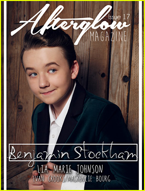 About a Boy's Benjamin Stockham Makes His Magazine Cover Debut With 'Afterglow'