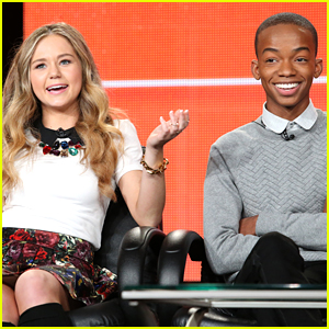Brec Bessinger & Coy Stewart Chat Up 'Bella & The Bulldogs' During TCA Press Tour