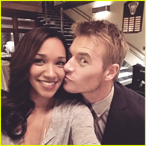 Candice Patton Takes JJJ Behind The Scenes Of 'The Flash' For Takeover