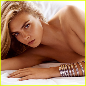 Cara Delevingne Is Topless & Stunning in John Hardy Jewelry Campaign