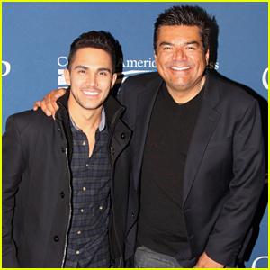 Carlos PenaVega Meets Real Oscar Vasquez At 'Spare Parts' DC Screening