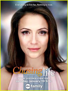 Italia Ricci Is Back As April Carver on 'Chasing Life' TONIGHT!