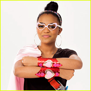 China Anne McClain Becomes a Glittery Superhero for Valentine's Day PSA - Watch Now!