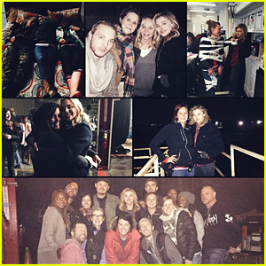 Chloe Moretz Wraps 'The 5th Wave' Filming