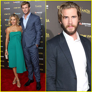 Liam Hemsworth Makes Us Swoon at the G'Day Gala