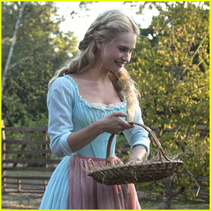 Midnight Changes Everything For Lily James in New 'Cinderella' Teaser - Watch Here!