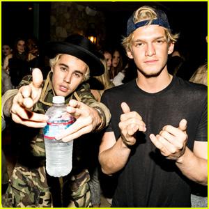 Cody Simpson Celebrates 18th Birthday with Justin Bieber, Miley Cyrus, Gigi Hadid & More!