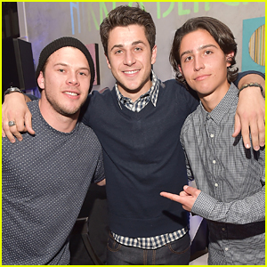 David Henrie Hits Up Riverhorse Restaurant Ahead of Celebrity Shootout at Sundance 2015