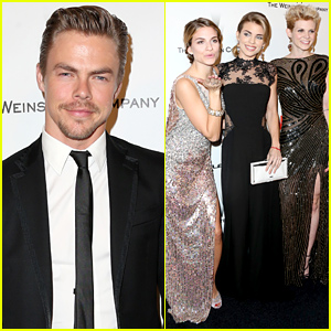 AnnaLynne McCord Brings Her Two Sisters to the Golden Globes 2015 Party!