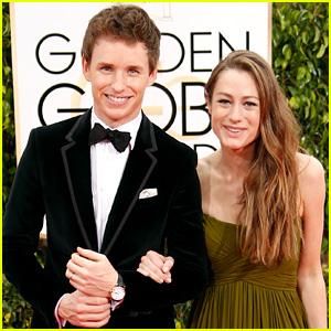 Eddie Redmayne & Wife Hannah Bagshawe Couple Up for Golden Globes 2015