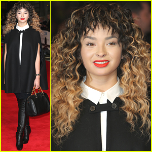 Ella Eyre Steps Out For 'Selma' Premiere After Asking Fans Not to Send Her Saucy Pics on Snapchat