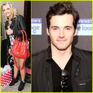 Emily Osment Stops By Kari Feinstein's Style Lounge with Ian Harding