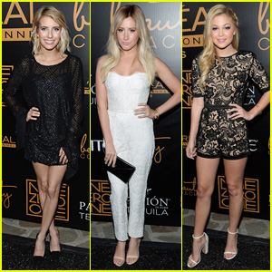 Emma Roberts & Ashley Tisdale Support Nine Zero One Salon with Olivia Holt
