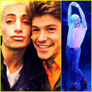 Frankie Grande & 'Big Brother' BFF Zach Rance Reunite Before 'Rock of Ages' Closes on Broadway
