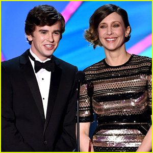 Freddie Highmore Charms Us on Stage at Critics' Choice Awards 2015