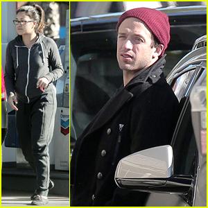 Gina Rodriguez & Boyfriend Henri Esteve Run Errands After Golden Globe Win