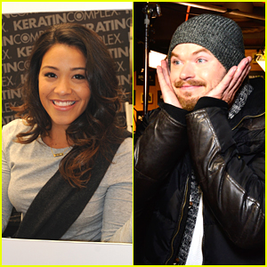 Gina Rodriguez & Kellan Lutz Stop By More Gifting Suites At Sundance 2015