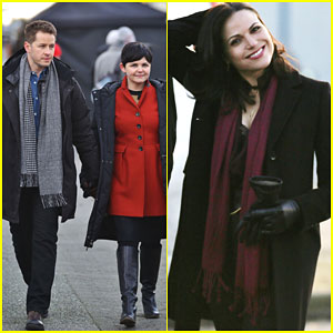 Ginnifer Goodwin & Josh Dallas Are One Cute Couple on 'Once Upon a Time' Set