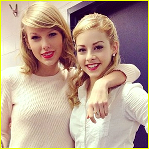 Gracie Gold 'Shakes Off' Her Ankle Injury To Taylor Swift on the Ice Rink