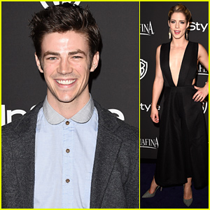 'The Flash' & 'Arrow' Stars Take Over the Golden Globes 2015 After Parties!