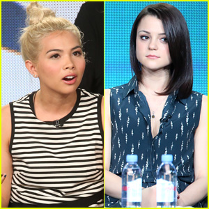 Hayley Kiyoko & Kathryn Prescott Hit TCA for CBS!