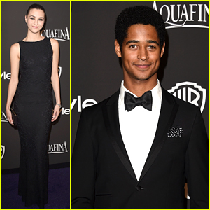 Katie Findlay & Alfred Enoch Make 'Murder' In Style at Golden Globes Party!