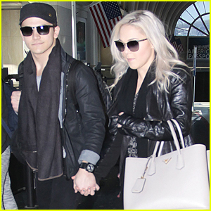 Hunter Hayes & Girlfriend Libby Barnes Take To The Skies After People's Choice Awards