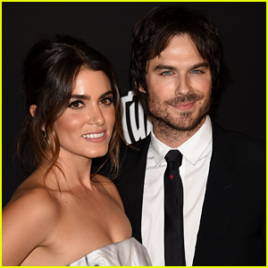 Ian Somerhalder & Nikki Reed Are One Cute Couple at the InStyle Golden Globes 2015 After Party!