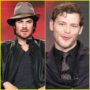 Ian Somerhalder Teases Upcoming Damon & Elena Happiness on 'Vampire Diaries'!