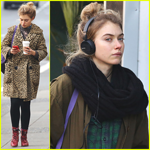Imogen Poots Heads To 'Roadies' Set In Canada