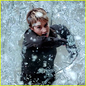 Shailene Woodley Breaks Through The Walls In New '
