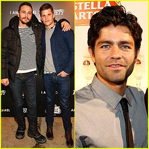 Charlie Carver & James Franco Buddy Up at 'I Am Michael' Cast Dinner During Sundance Film Festival