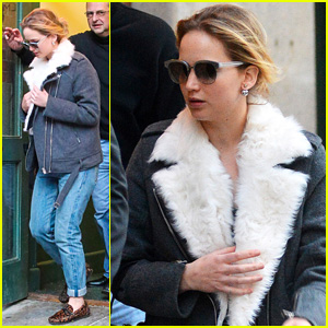 Jennifer Lawrence Braves NYC Cold After Chris Martin Relationship Said to Be 'Solid'