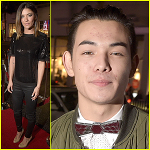 Jessica Szohr & Ryan Potter Hit 'Manny' Hollywood Premiere