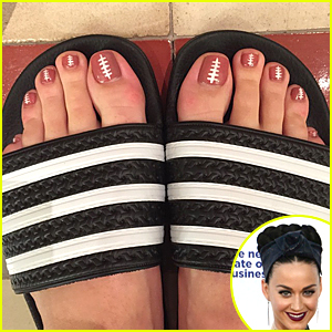 Katy Perry Reveals Small Part of Super Bowl 2015 Halftime Look