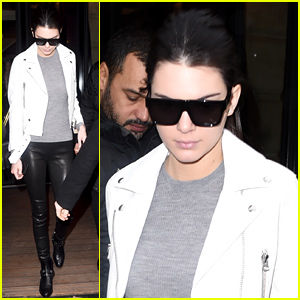 Kendall Jenner's Leather Pants Are So Chic!