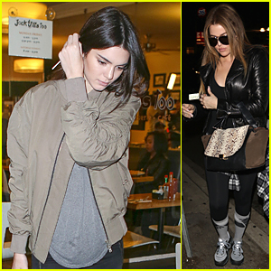 Kendall Jenner & Khloe Kardashian's Dinner Gets Caught on Camera For 'Keeping Up With the Kardashians'