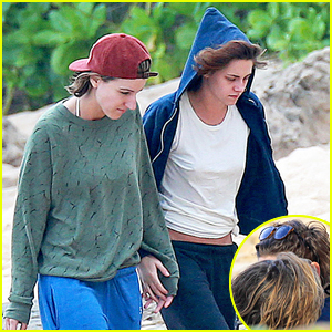 Kristen Stewart Has a Hawaiian Beach Vacation with Alicia Cargile