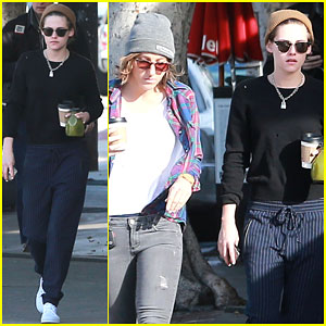 Kristen Stewart Starts Her Morning With Alicia Cargile & Coffee!