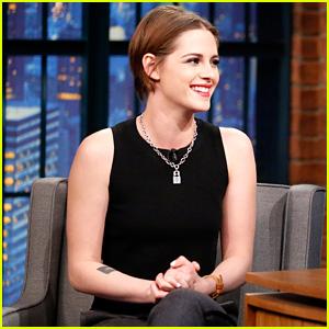Kristen Stewart Describes 'Twilight' as Her 'High School Years'